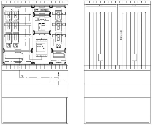 Verteiler mit NA-Abschaltung, PKVNA250-112-115ES