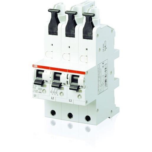 SLS-Schalter 3P E-35A Sammelsch. QC, 80