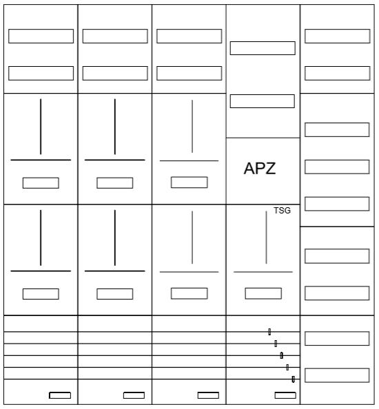 AZ102HS3A-210-7, Zählerverteilung mit 3-Punktbefes