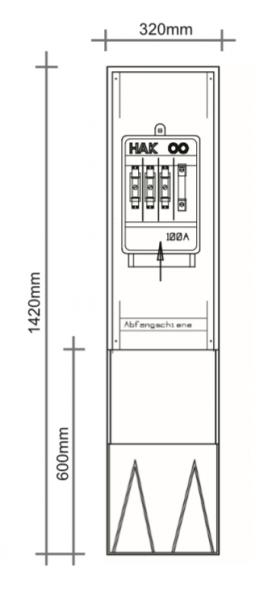 PKV32-HAK, für den Außenbereich