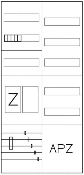 AEZ22-210-003, eHZ-Zählerverteilung