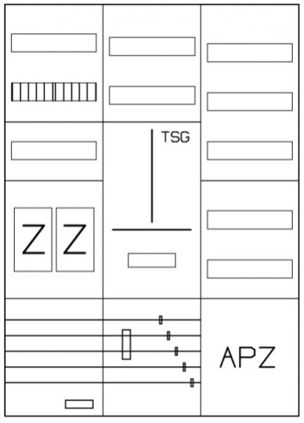 AEZ32-210-004, eHZ-Zählerverteilung