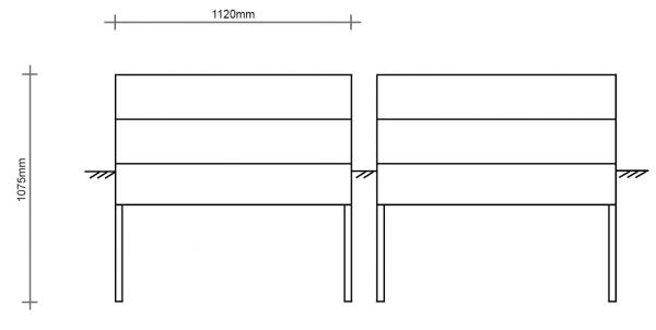 Hochwassersockel für PKV112-92/115 ES/DS