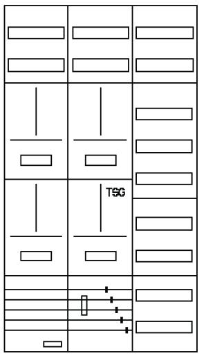 AZ62HS2-210, Zählerverteilung mit 3-Punktbefestigu