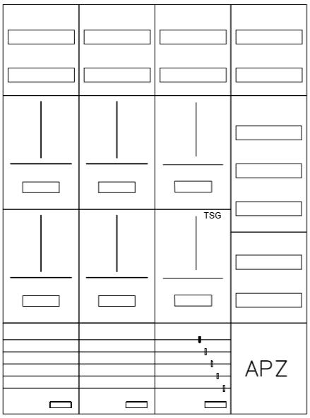 AZ82HS2A-210, Zählerverteilung mit 3-Punktbefestig