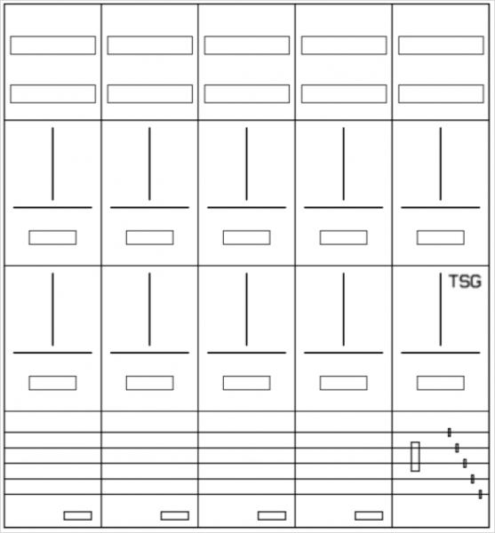 AZ102H-210, Zählerverteilung mit 3-Punktbefestigun