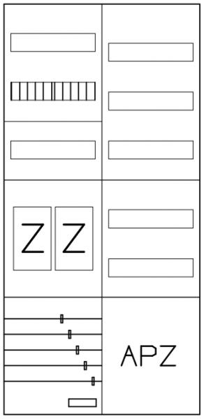 AEZ22-210-004, eHZ-Zählerverteilung
