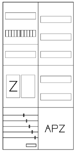 AEZ22-210-201, eHZ-Zählerverteilung