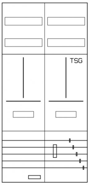 AZ22B-210, Zählerverteilung mit 3-Punktbefestigung