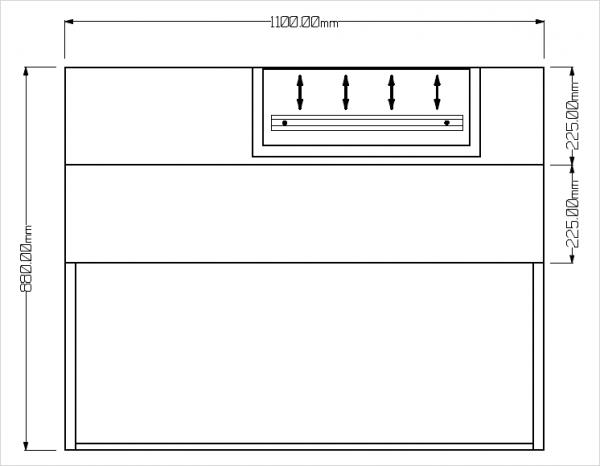 Festplatzsockel für PKV112-92/115 ES/DS