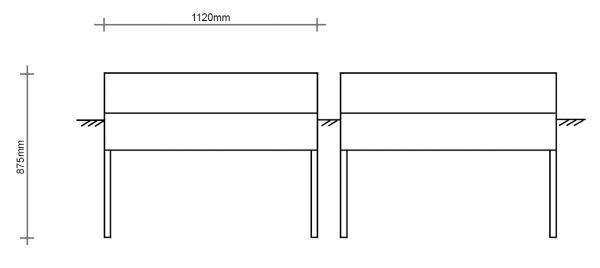 Normsockel passend für PKV112-92/115 ES/DS