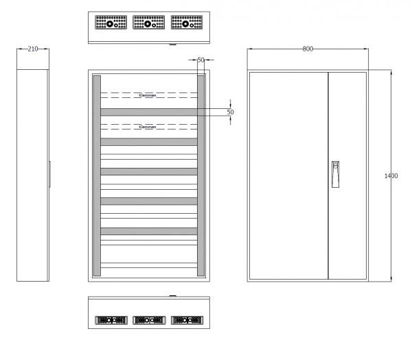 Automatenverteiler Smart Home, AVK3-9-210-SH